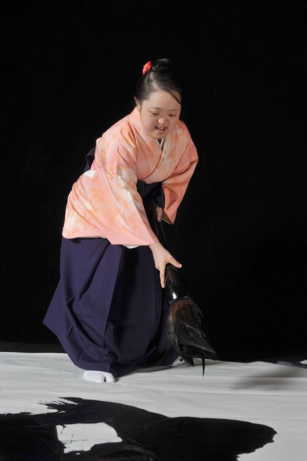 金澤翔子画像